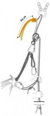 Les Alpes - noeud de huit pour rabouter deux cordes