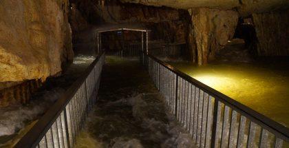 Crue aux grottes de Vallorbe