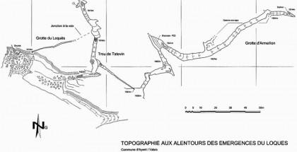 Topographie du Loquès
