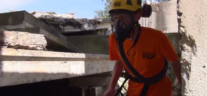 Dangers sur le lieu d'intervention – milieu souterrain et décombres