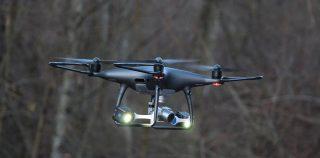 Drones volants en spéléologie