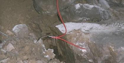 minage au cordeau détonnant