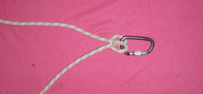 nœud et demi-nœud d'amarre