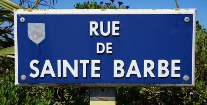La rue Sainte Barbe