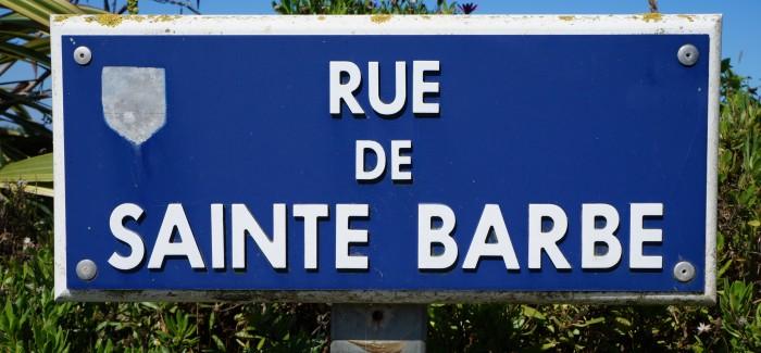 Sainte Barbe, la patronne des spéléos