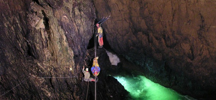 Tyroliennes en corde semi-statique